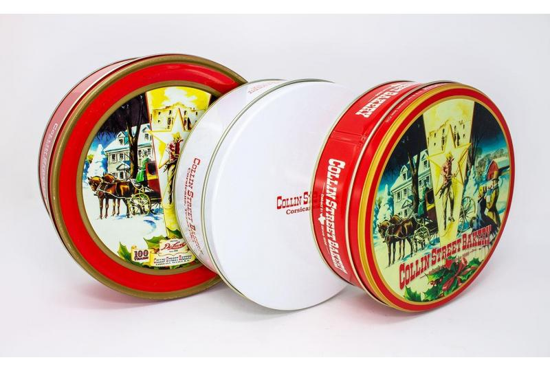 New DeLuxe Fruitcake Packaging