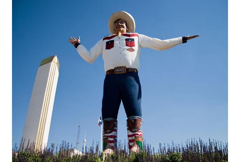 Big Tex Iconic State Fair of Texas Landmark Hero
