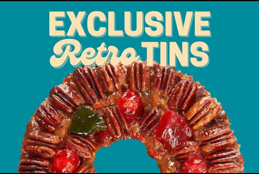 Collin Street Bakery Exclusive Retro Tins