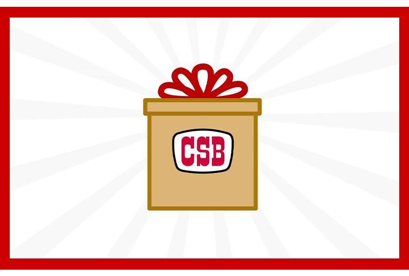 Order Process CSB Gift Box