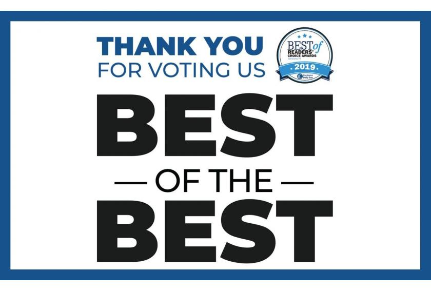 Thank You Corsicana Daily Sun Best of Best 2020