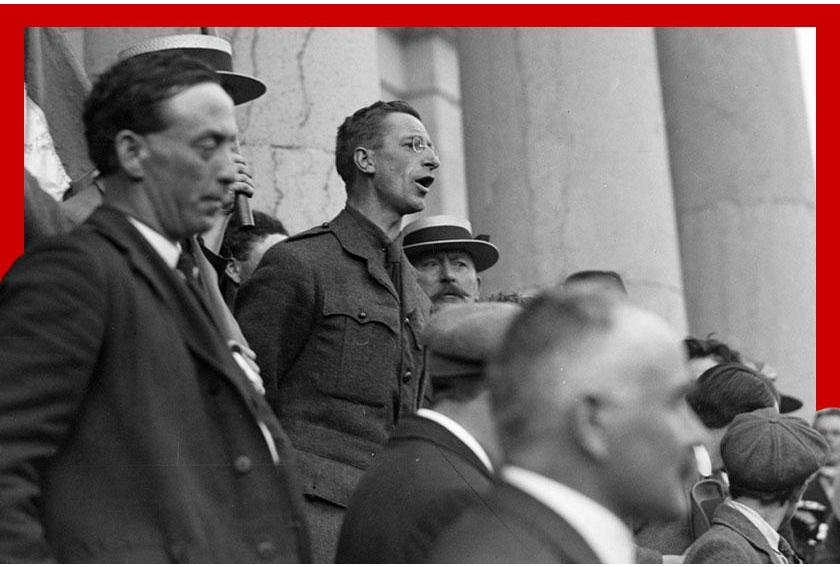 Éamon De Valera Addresses Crowd