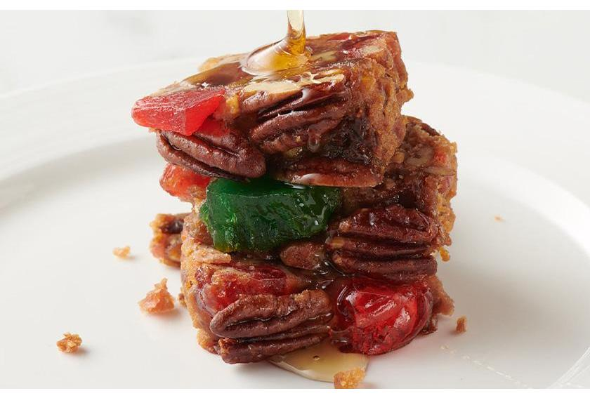 How To Keep Fruitcake Moist - DeLuxe Fruitcake Slices