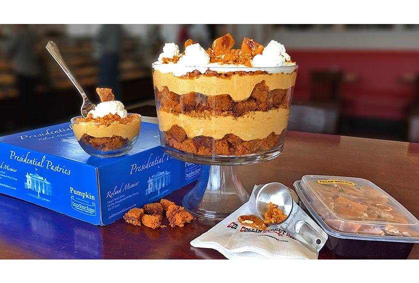 Presidential Pasteries White House Pumpkin Cake Trifle hero