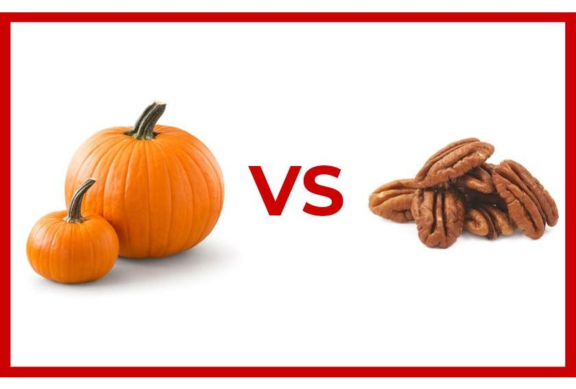 Pumpkin vs Pecan Thumbnail