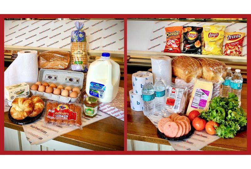 quarantine kits breakfast and lunch packs hero