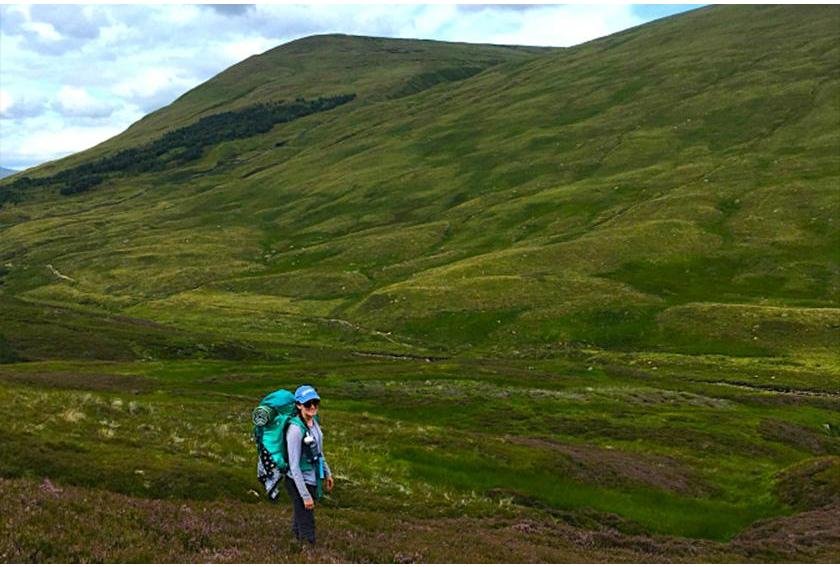 The Scottish National Trail Hikers