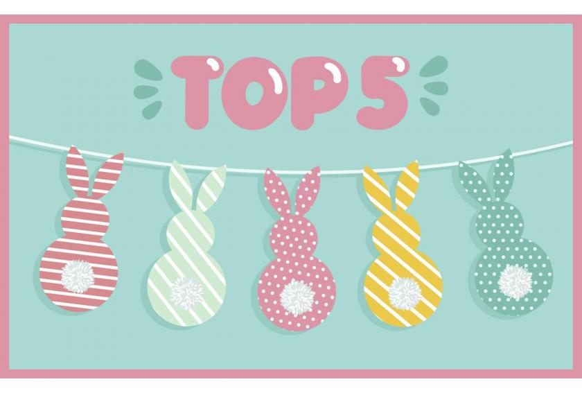Top 5 Desserts for Easter Preview