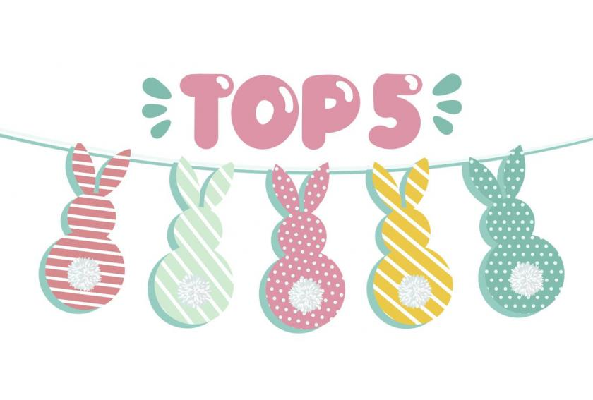 Top 5 Desserts for Easter Hero
