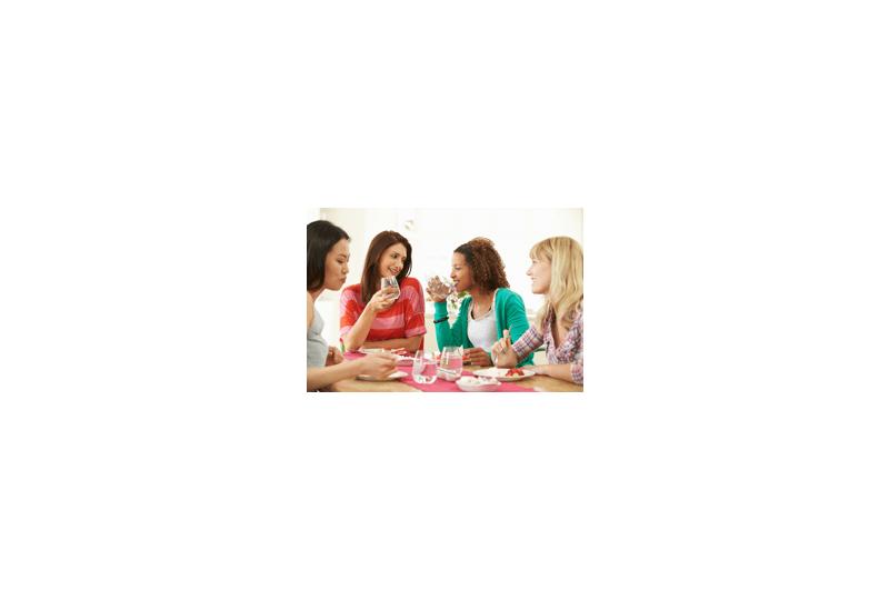 women eating desser hero
