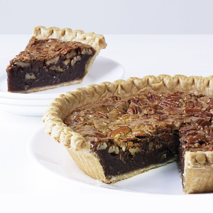 Deep Dish Fudge Pecan Pie