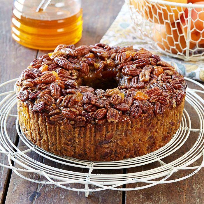 Regular Apricot Pecan Cake