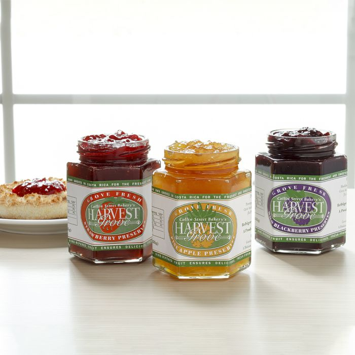 Trio of Preserves