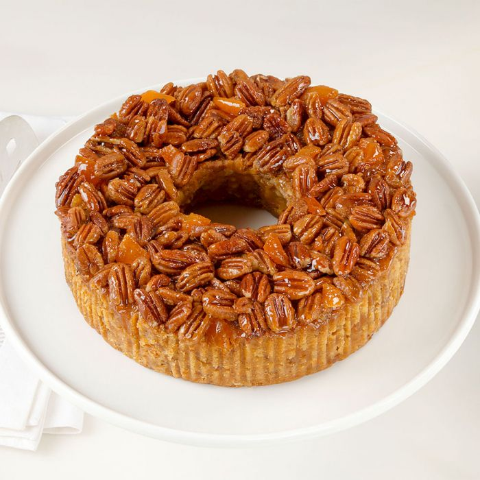 Medium Apricot Pecan Cake