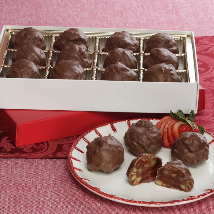 Chocolate Covered Strawberry Pecan Petites