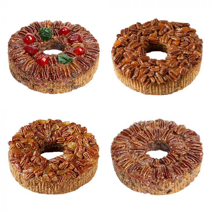 4-Pack Regular Pecan Cakes