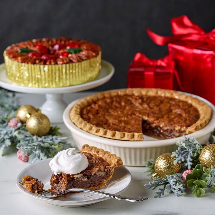 DeLuxe® Fruitcake & Pecan Pie Combo