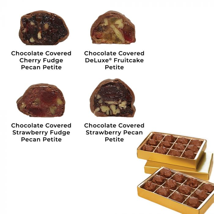 4-Pack Chocolate Covered Petites