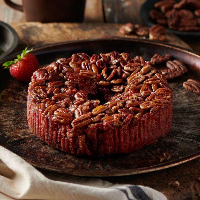 Strawberry Pecan Cake