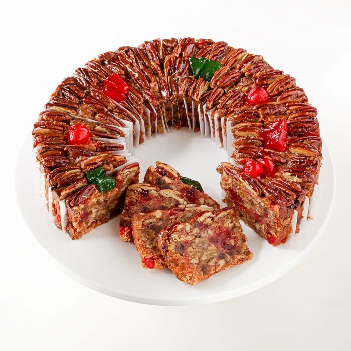 Sliced Large DeLuxe® Fruitcake
