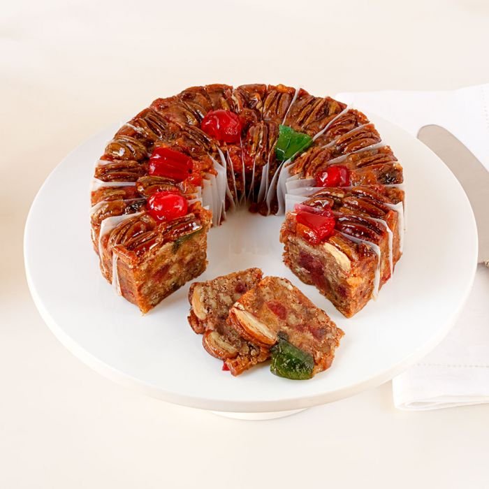 Sliced Regular DeLuxe® Fruitcake