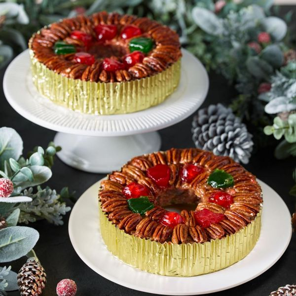 Two Regular-Sized DeLuxe® Fruitcake Bundle