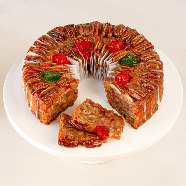 Sliced Medium DeLuxe® Fruitcake