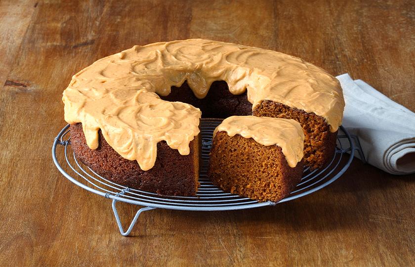 White House Pumpkin Cake