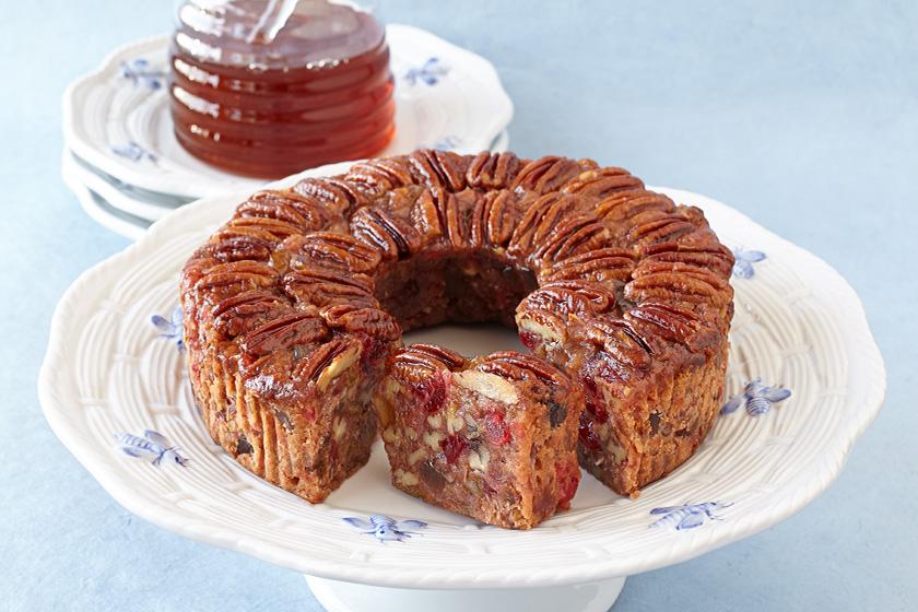 Blonde Texas Pecan Cake