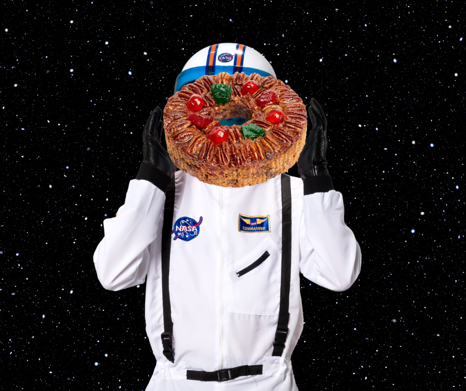 Fruitcake in outer space